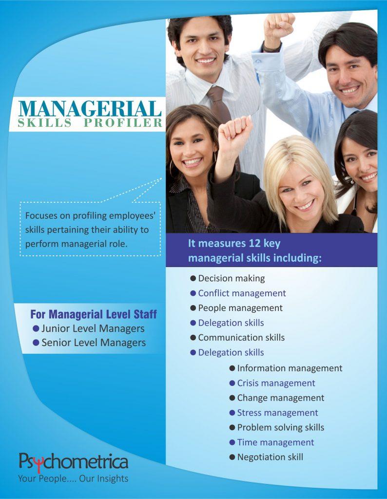 Managerial Skill Profiler